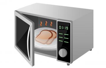 Il forno a microonde ha acquisito sempre più popolarità  in cucina!