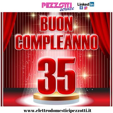 Buon Compleanno Pezzotti Service!