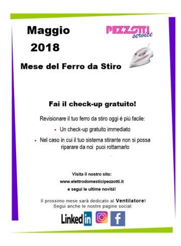 Maggio 2018 mese del Ferro da Stiro!